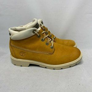 Timberland Boys 3093R Tan Classic Chukka Boot SZ 5